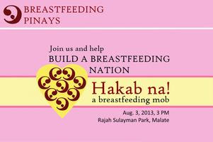 Breastfeeding Pinays: Hakab na! A Breastfeeding Mob