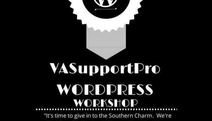 VA Support Pro's WordPress Workshop