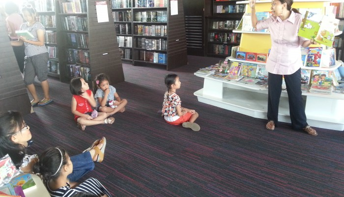 Storytelling Weekends at Fully Booked