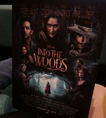 Friday Family Movie Night Presents: Into the Woods