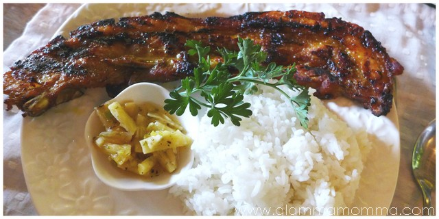 Grilled Aromatic Pork