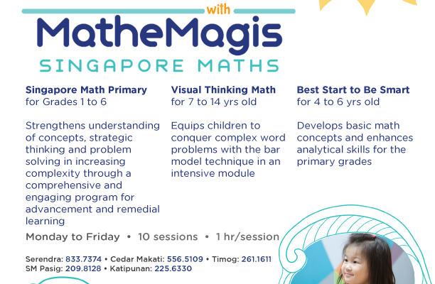 Mathemagis' Singapore Math Summer Programs