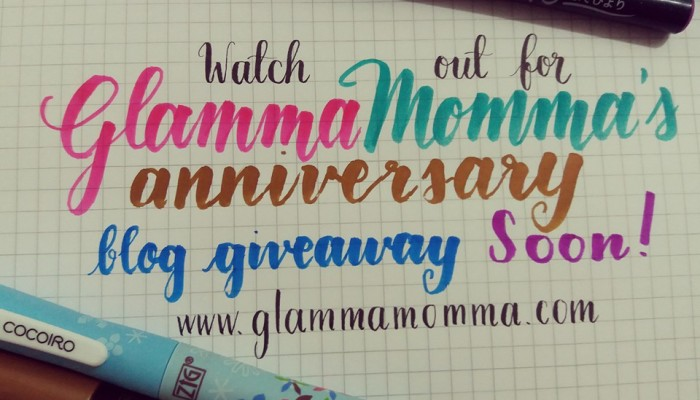 Glamma Momma @ 6: Blog Anniversary Giveaway