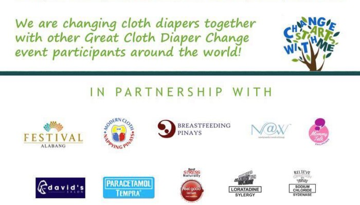Great Cloth Diaper Change 2016: Change Starts With Me