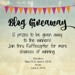 6th Blog Anniversary Giveaway