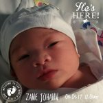 Meet our newborn baby, Zane!